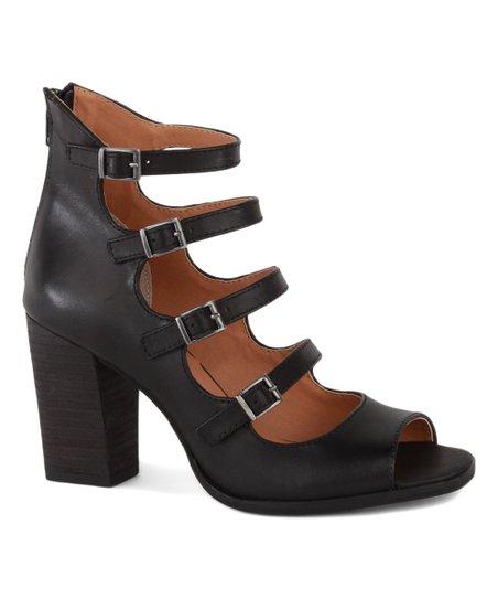 1a798cd79491 Seychelles Black Kayak Leather Sandal - Women