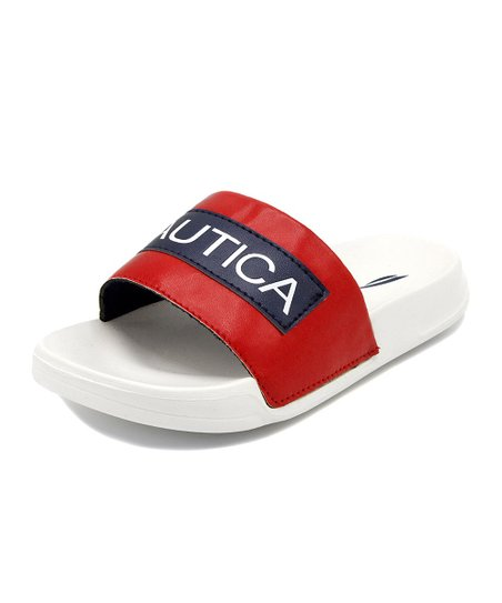 51c9896681f6 love this product Red   White   Navy Altair Sandal - Boys