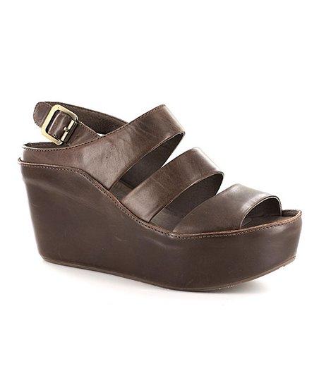 d4df48967d2a Chocolat Blu Brown Windsor Leather Sandal - Women