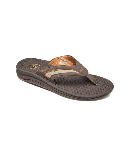 5abef01f19d61 love this product Dark Brown & Tan Flex Flip-Flop - Men