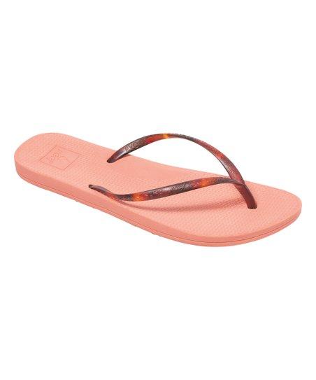8adbc4117 love this product Mauve Tortoise Reef Escape Lux Flip-Flop - Women