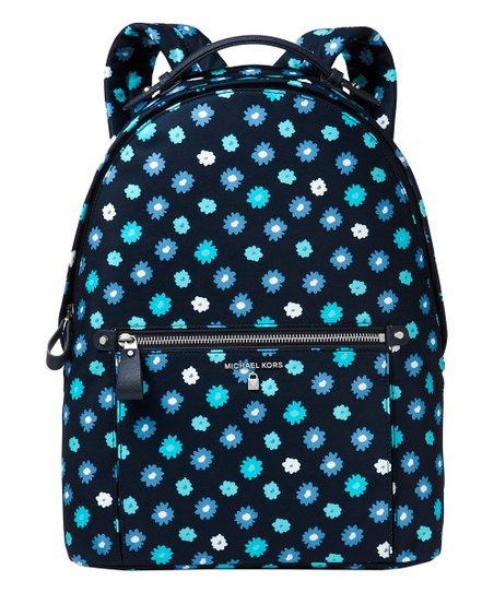 2c752bc14812 Michael Kors Admiral & Tile Blue Floral Kelsey Backpack | Zulily