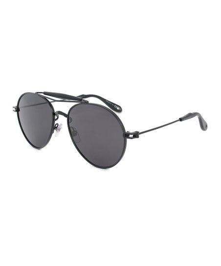 698fc752ab Givenchy Gray   Matte Black Aviator Frames