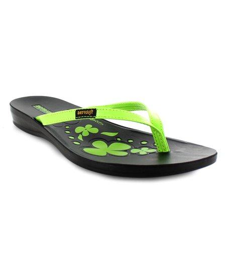 c00c3f243 love this product Green Sandra Flip-Flop - Women
