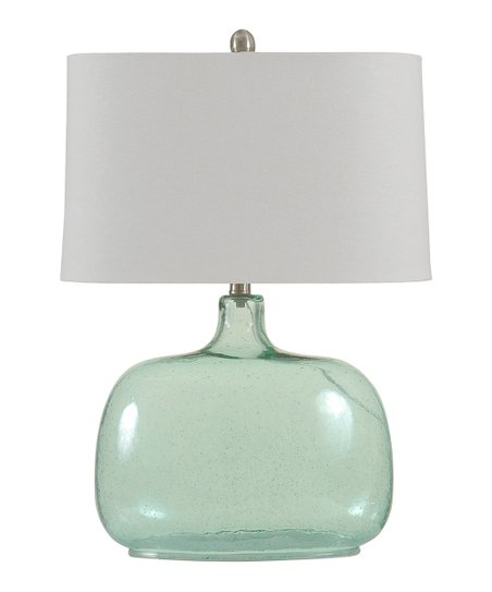 Seeded Glass Table Lamp Zulily