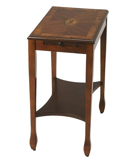 Refined Rectangular Wood Side Table