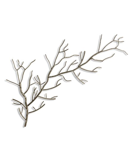 love this product Left Silver Metal Tree Branch Wall Art b3dd613db