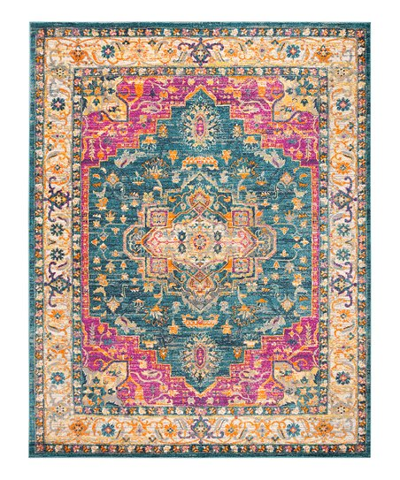 Safavieh Rugs Blue Yellow Belinda Madison Rug Zulily