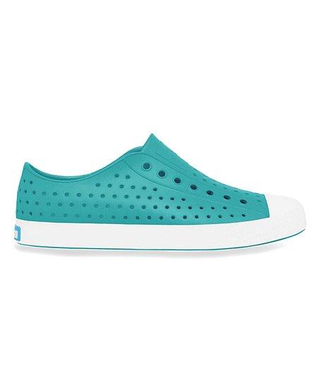 b4ac7c30d752 Native Iris Blue & Shell White Jefferson Slip-On Sneaker - Neutral ...