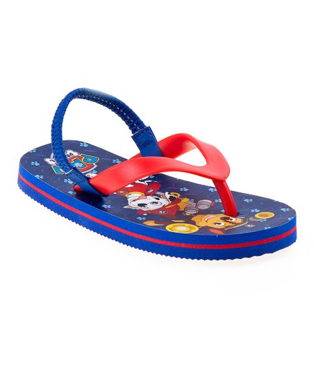 35d0ce682ee1d love this product Navy   Red PAW Patrol Flip-Flop - Boys