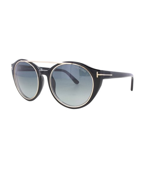 b6df0db107ff Tom Ford Black   Blue Gradient Joan Sunglasses