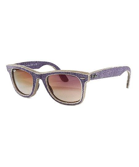 ee1de51aee3b1 Ray-Ban Jeans Violet Gradient Wayfarer Sunglasses - Unisex