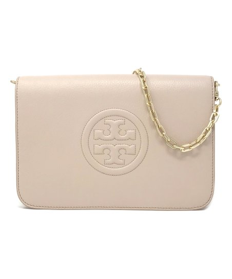 7205d2f7b Tory Burch Light Oak Bombe Leather Convertible Clutch | Zulily