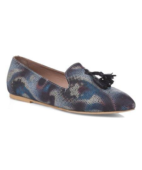 e93739b0564 Rockit Blue Remy Tassel Leather Loafer