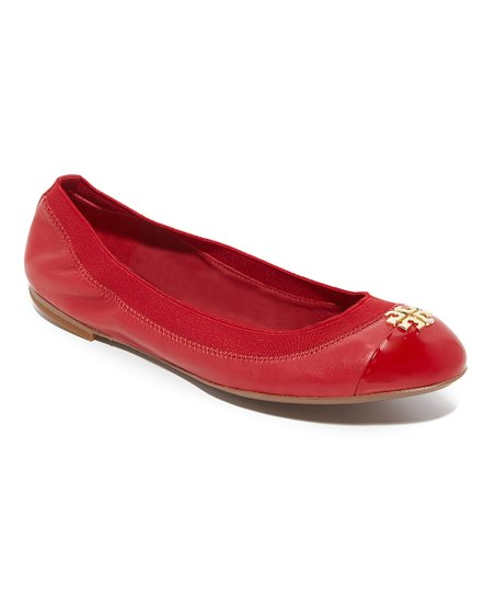 6372084c3 love this product Red Jolie Leather Ballet Flat - Women