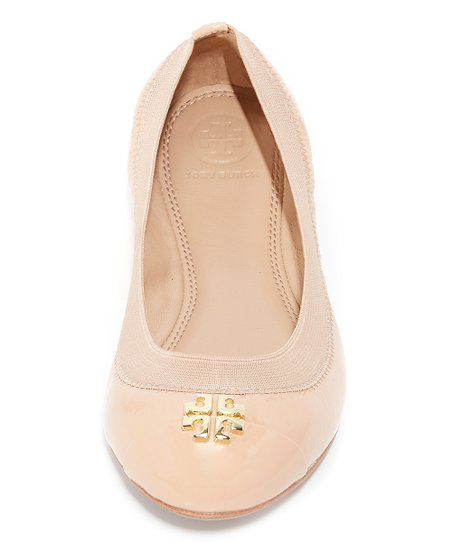 bcad6018222 Tory Burch Light Oak Jolie Leather Ballet Flat - Women