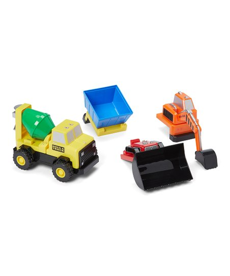 Build A Truck >> Popular Playthings Magnetic Build A Truck Set