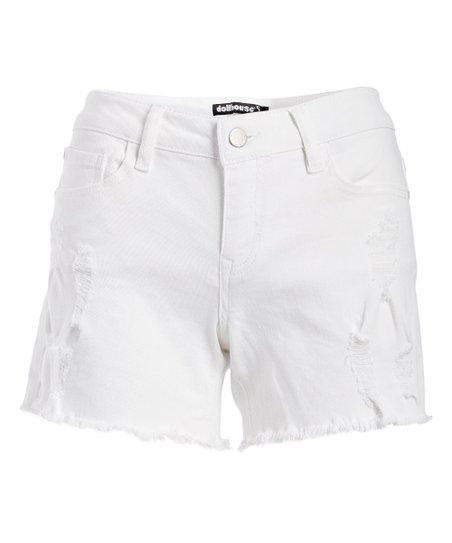White Shorts for Juniors