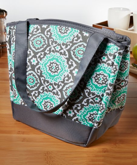 Teal Gray Medallion Hyannis Insulated