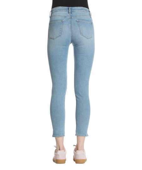 f066a831fe3 love this product Medium Wash Side-Slit Marley Mid-Rise Skinny Jeans -  Women   Plus