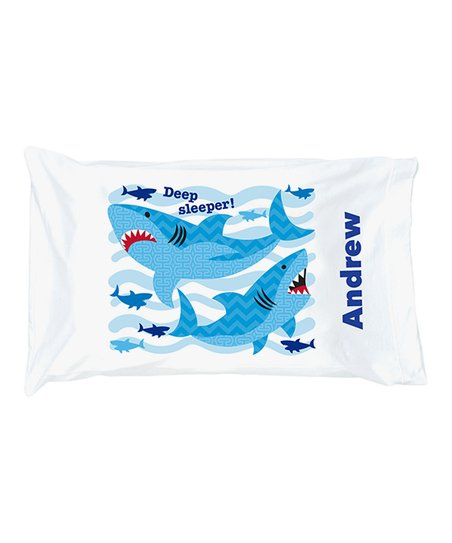 eb99fbb7826 Shark 'Deed Sleeper' Personalized Pillowcase