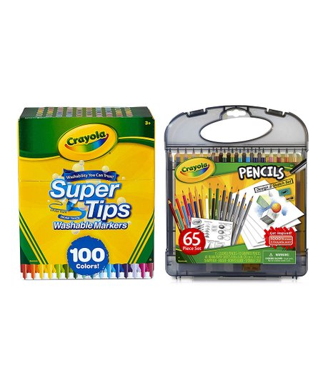 Crayola Pencil Design And Sketch Kit 1299 Picclick