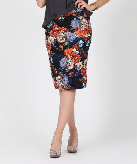 Look What I Found On Zulily Navy Stripe Maxi Skirt Plus Too Zulilyfinds Also In Red