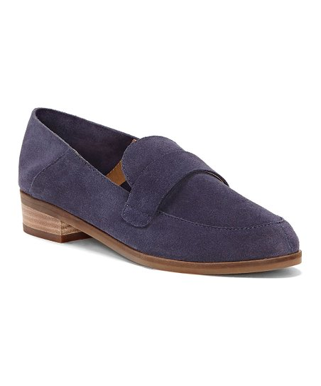 934f339331e love this product Moroccan Blue Chennie Suede Loafer - Women
