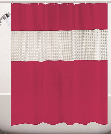 Love This Product Red Stripe Shower Curtain