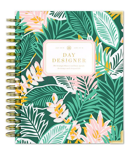 photo about Day Designer Daily Planner named Working day Designer Antigua Instructional July 2018-June Day by day Planner
