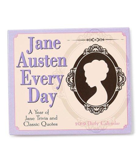 Sellers Publishing Jane Austen 2019 Daily Boxed Calendar