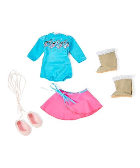 8f44617416f8d Springfield Collection Ballet Outfit Set for 18 Dolls   Zulily
