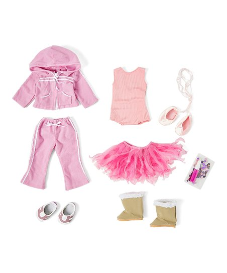 fd83c647c491c Springfield Collection Ballet Outfit for 18 Doll   Zulily