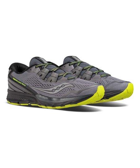 cc6616709c93 Saucony Black   Citron Zealot ISO 3 Reflex Running Shoe - Men