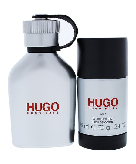 793a35ec53 HUGO BOSS Hugo Iced Eau De Toilette 2.4-Oz. 2-Pc. Set - Men | Zulily