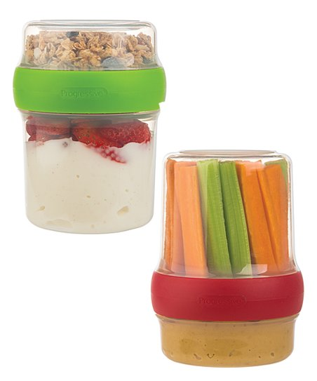 Flip &Amp; Go Snack Stack   Set Of Two by Prep Solutions®