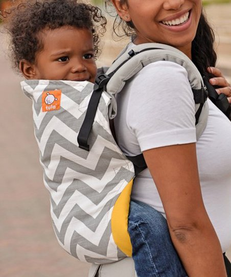 Baby Tula Gray Zigzag Toddler Carrier