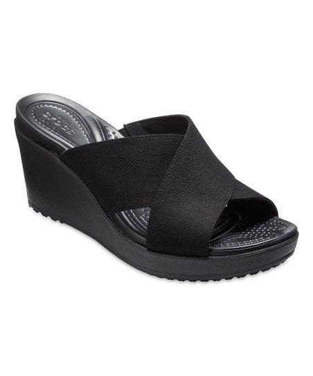 Leigh Black Crocs Sandal X Ii Strap Wedge WomenZulily MVpUSqzG
