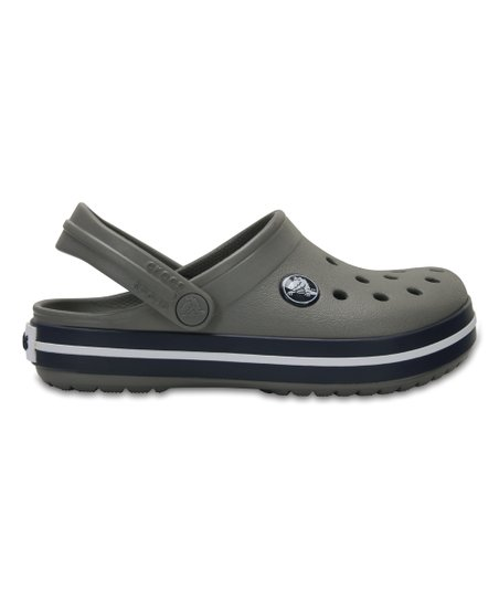 f75655f1431fec love this product Smoke   Navy Crocband Clog - Kids