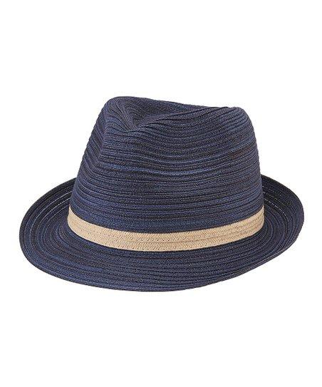 San Diego Hat Company Navy Fedora  26bdceb6e91