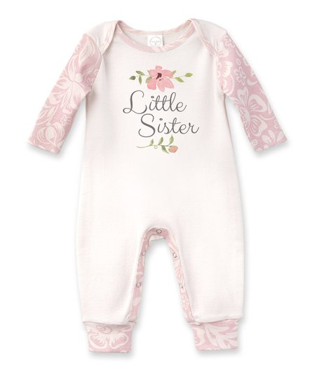83bb71182222 love this product Ivory   Floral  Little Sister  Romper - Newborn   Infant