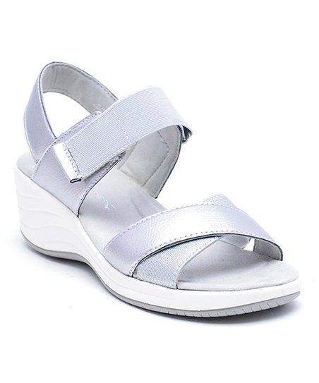 5ae48fe55ded love this product Silver Darry Sandal - Women