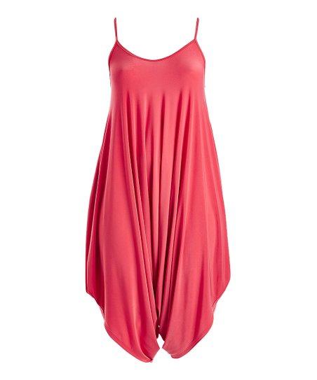 dce793b626e0 love this product Coral Harem Jumpsuit - Women   Plus
