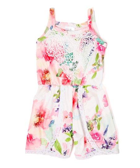 33b717aa040d Pink Floral Romper - Infant