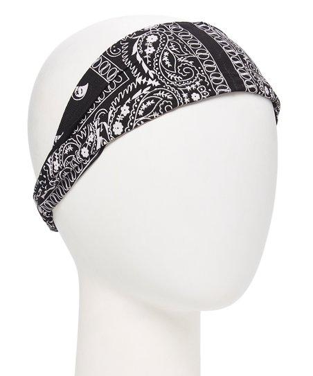 Carole Black   White Bandana Headband  4ee2e4bc4f3