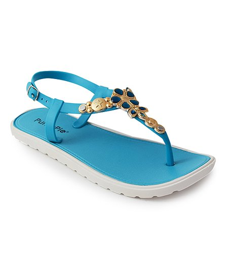 cfb2c2dad0d8 love this product Turquoise Rhinestone Sandal - Women