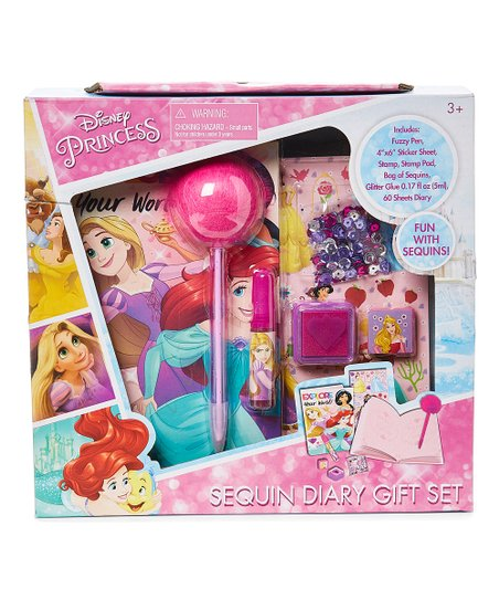Sequin Diary Gift Set