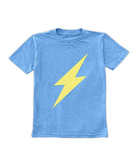 9f7aeca2 love this product Bright Blue Lightning Bolt Tee - Toddler & Boys