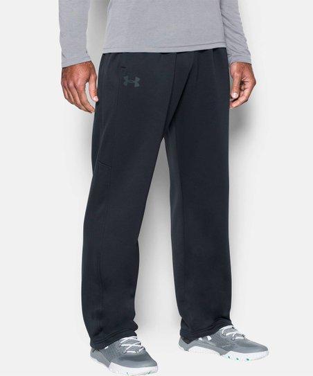 07bb0a74c3 Under Armour® Black UA Storm Armour Fleece® Pants - Men