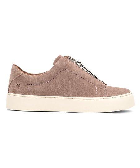 cab5b979b81 Frye Dusty Rose Lena Zip Low Suede Sneaker - Women